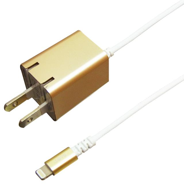 PREMIUM AC Charger Lightning Hard Cable  1.5m 1A